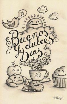 Buenos y Dulces Dias Postal para Enviar Nº19375 - http://enviarpostales.net/buenos-y-dulces-dias-postal-para-enviar-no19375/