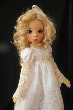 "Little Snowflake ~ OOAK Outfit for 18""  Kaye Wiggs Layla MSD BJD ~Glorias Garden #ClothingAccessories"