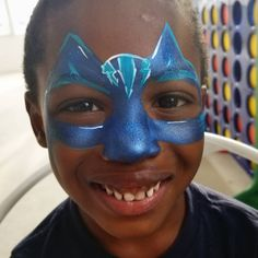 Tried my first PJ Mask Cat boy on the job. It's great to have the challenge and be happy with the results! Mask Face Paint, Face Painting Designs, Pj Mask, Face Paintings, Superman, Turtle, Challenge, Nyc, Activities