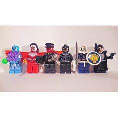 new Marvel Lego minifigures  #electro #amazingspiderman2 #falcon #redskull #captainamerica #bullseye #daredevil #taskmaster #deadpool #punisher #marvel #lego #legophotography #legolife #minifigures #toy