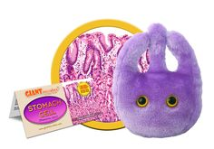 Stomach Cell Plush- Wonderful educational tool and gift for those who love churning and digesting food!