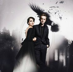 Almost feels like a Dramione film noir.....Which is an awesome idea, this needs to happen!
