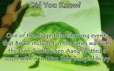 Photo of Did You Know? for fans of Avatar: The Last Airbender.