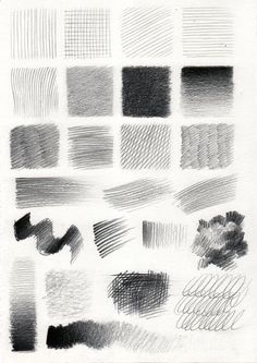 28 Line Pattern Pencil Drawing Ideas - Art Texture Drawing, Basic Drawing, Drawing Tips, Drawing Ideas, Pencil Texture, Pencil Shading Techniques, Drawing Techniques, Pencil Art Drawings, Art Drawings Sketches
