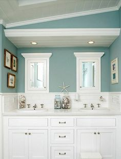 Bathroom Pinterest Teal Bathrooms Round Wall Mirror And Freestand