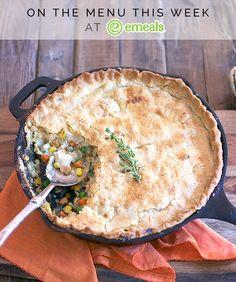 Weeknight Chicken Pot Pie | eMeals