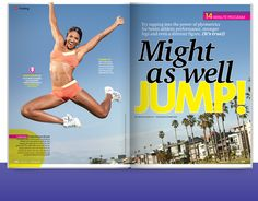 Might As Well Jump from our August 2011 issue. Click through for a sneak peek!