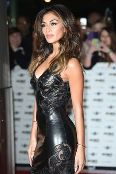 Nicole Scherzinger attends MOBO Awards