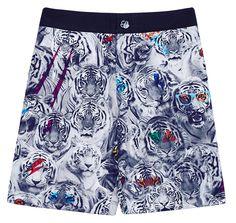 Seafolly Boys Summer Jungle Boardie Plus