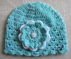 Jarní/podzimní čepička - peprmint/bílá Crochet Hats, Beanie, Fashion, Knitting Hats, Moda, La Mode, Fasion, Beanies, Fashion Models