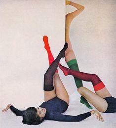 1964. 1960s fashion images.