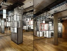 Ray Ban Concept Store at Covent Garden by PureSang, London eyewear store design