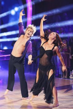 Sharna Burgess & Charlie White - Dancing With the Stars - Week 8 - season 18 - spring 2014