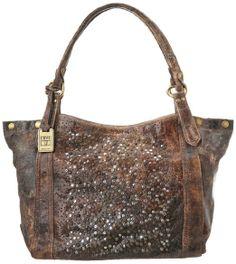 Amazon.com: Frye Deborah Shoulder Bag,Chocolate,One Size: Clothing