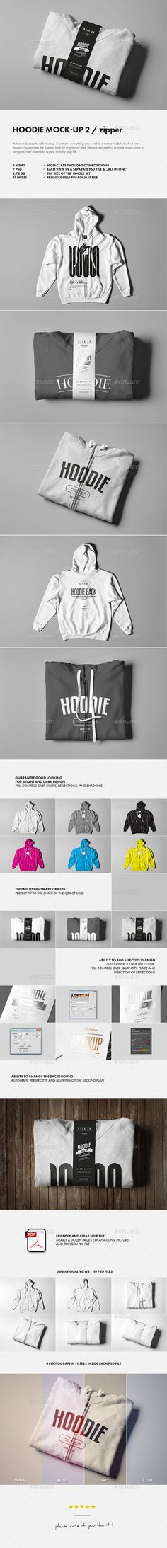 Hoodie Mock-Up #design Download: http://graphicriver.net/item/hoodie-mockup-2/14050155?ref=ksioks