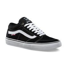 zapatillas vans blanco y negro