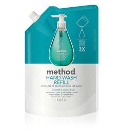 Gel hand wash refill