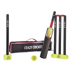 buy now The Ram Cricket Mini Crazy Cricket Set offers young kids a perfect introduction to cricket at a highly cost effective price for parents and club coaches. Mma, Cricket, Workout, Coaching, Fitness, 8th Birthday, Young Children, Park, Beach