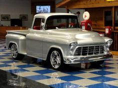 1955 Chevrolet 3100 Stepside Big Window