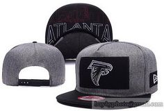 NFL Atlanta Falcons Grand Snapback Hats Caps Black/Gray
