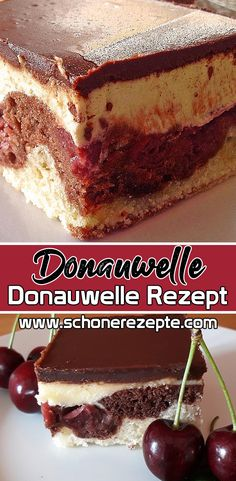 Donauwelle Kuchen Super Einfaches Rezept – Schnelle Kuchen Rezepte Donauwelle Cake Super Simple Recipe – You are expecting guests and are looking for a special pastry, then try this recipe from the Donauwellen Cake. Quick and easy cake recipes. Quick Cake, Bon Dessert, Coconut Macaroons, Yellow Cake Mixes, Easy Cake Recipes, Quick Easy Meals, Yummy Food, Delicious Recipes, Snacks