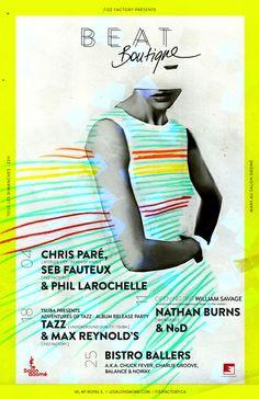 Beat Boutique 2012 by Elizabeth Laferrière, via Behance