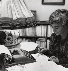 Françoise Sagan 1957