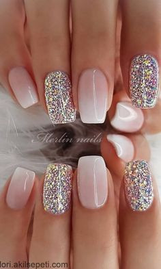 29 awesome and cute summer nails design ideas and pictures for 2019 - page 6 of . - 29 Awesome and Cute Summer Nails Design Ideas and Pictures for 2019 – Page 6 of 28 – ROn – Ne - Chic Nail Designs, Cute Summer Nail Designs, Cute Summer Nails, Winter Nail Designs, Acrylic Nail Designs, Cute Acrylic Nails, Summer Design, Nail Ideas For Winter, Spring Nails
