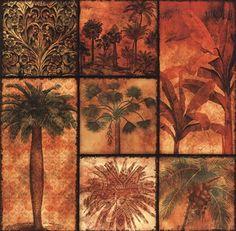 Palm Patchwork II