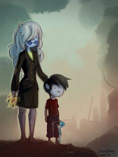 Forgive Me - Ice Queen + Marshall Lee by *uuber on deviantART noOOOOOOO