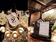 Roaring 20's Theme, oh look at the typewriter, swoon