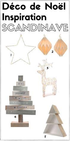 Décoration de Noël inspiration scandinave [SHOPPING]  http://www.homelisty.com/inspirations-deco-noel-objets-deco/