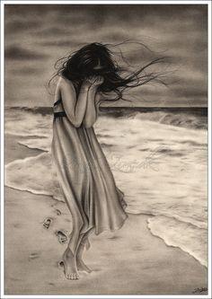 girl lost in the field fantasy art - Google Search