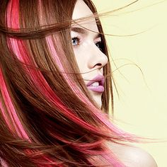 Sultra Hair Extensions   Did u ever want hair color accents without coloring your hair? #harmony salon