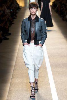 Fendi Spring 2015 Ready-to-Wear Fashion Show - Saskia de Brauw