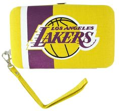 Los Angeles Lakers Shell Wristlet