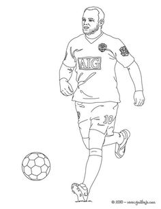 Projects ideas man utd coloring pages wayne rooney manchester united soccer player page sport Sports Coloring Pages, Printable Adult Coloring Pages, Coloring For Kids, Colouring Pages, Football Player Drawing, Football Players, Wayne Rooney, Men's Pocket Squares, Manchester United Soccer