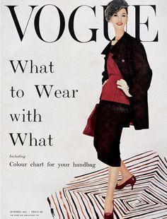 Vogue, October 1955.