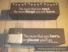 DIY: bookshelves for kids | Little Free Radical