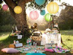 Tolle Idee für ein romantisches Picknick