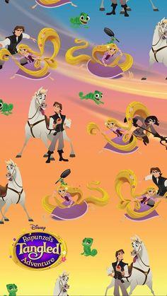 Disney Love, Disney Art, Disney Pixar, Disney Characters, Disney Wallpaper Tangled, Disney Tangled, Disney Princess, Tangled 2010, Tangled Series