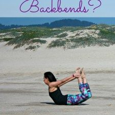 What are the benefits of practicing backbends?