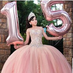 Humorous quinceanera center pieces Call today - New Site Robes Quinceanera, Quinceanera Planning, Pretty Quinceanera Dresses, Quinceanera Decorations, Pink Quinceanera Dresses, Xv Dresses, Quince Dresses, Sweet 16 Dresses, Pretty Dresses