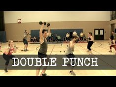 This workout was intense. We started with the warm up then hit this 3 line circuit with 1 minute of a drill then 30 seconds of another drill using the same s...