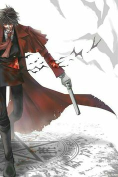 Browse Hellsing™ Hellsing collected by CAD! and make your own Anime album. Hellsing Ultimate Anime, Seras Victoria, Near Dark, Game No Life, Hellsing Alucard, Anime Rules, Pokemon, Anime Love, Anime Characters