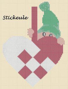 elf cross stitch freebie - LOVE IT!!!