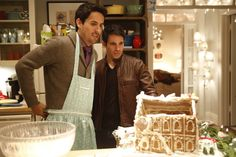 """Chris Messina as Danny Castellano and Ed Weeks as Jeremy Reed - """"Mindy and Josh's Christmas Party"""", The Mindy Project"""