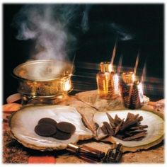 Herbs:  Oud (Aloeswood) #incense.