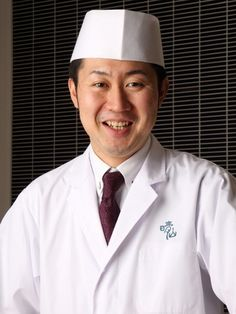Japanese Restaurant SEIZAN chef YAMAMOTO HARUHIKO greeting. Sengakuji Temple / Shinagawa / Tokyo Tower / Zojoji Temple, Japanese Kaiseki (course menu), Japanese SAVOR JAPAN -Japanese Restaurant Guide-