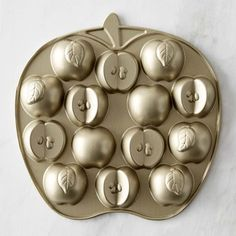 Nordic Ware Apple Cakelet Pan: Imagine the Rosh Hashanah Honeycakes this could make!!